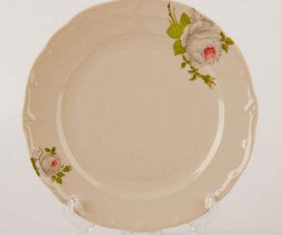"""Набор тарелок 24см. 6шт. """"Алвин бежевый"""""""