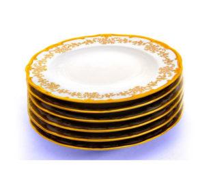 """Набор тарелок 24см.6шт.""""Кастэл"""""""