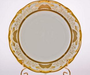 """Набор тарелок 24см.6шт.""""Симфония Золотая"""""""