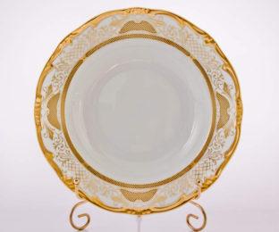 """Набор глубоких тарелок 24см.6шт.""""Симфония Золотая"""""""