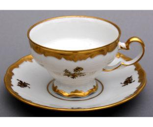 "Набор чайный 210мл.на 6перс.12пред.""Роза золотая"""