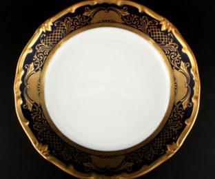 """Набор тарелок 19см.6шт.""""Симфония Кобальт"""""""
