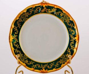 """Набор тарелок 15см. 6шт """"Ювел зеленый 876/3"""""""
