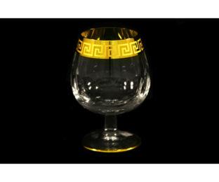 Набор: 6 хрустальных бокалов для коньяка (0,275 л.) Версаче