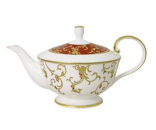 Чайник (белый) с крыш.(красн) Анатолия