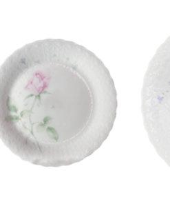 Набор из 6 десертных тарелок Апрельская роза