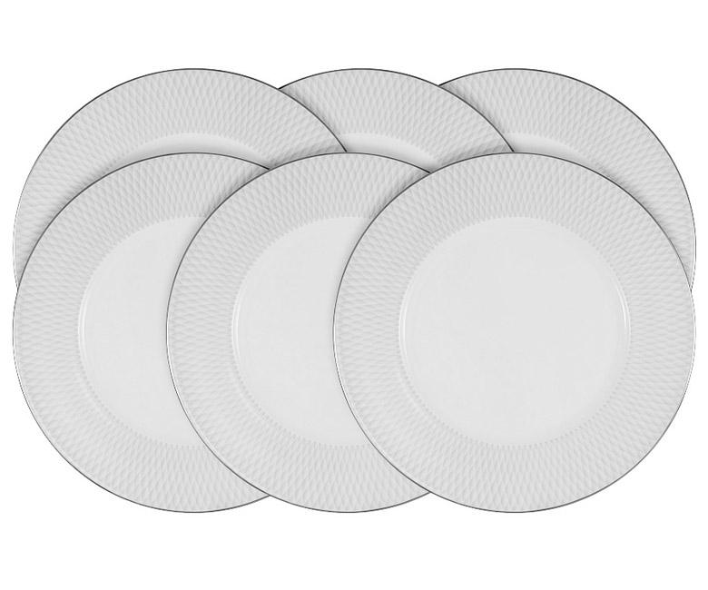 Набор из 6 обеденных тарелок Бриз