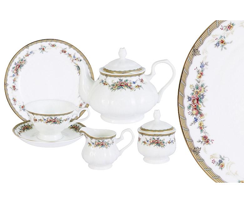 Чайный сервиз 21 предмет на 6 персон Изабелла