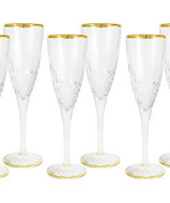 Набор: 6 бокалов для шампанского Уэльс