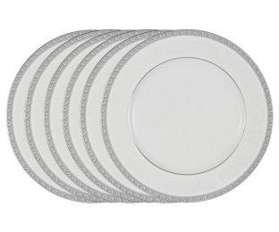 Набор из 6 обеденных тарелок Луна