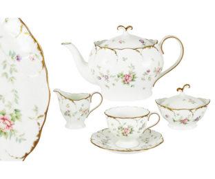 Чайный сервиз из 17 предметов на 6 персон Воспоминание