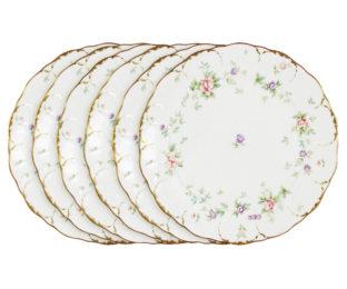 Набор из 6 обеденных тарелок Воспоминание