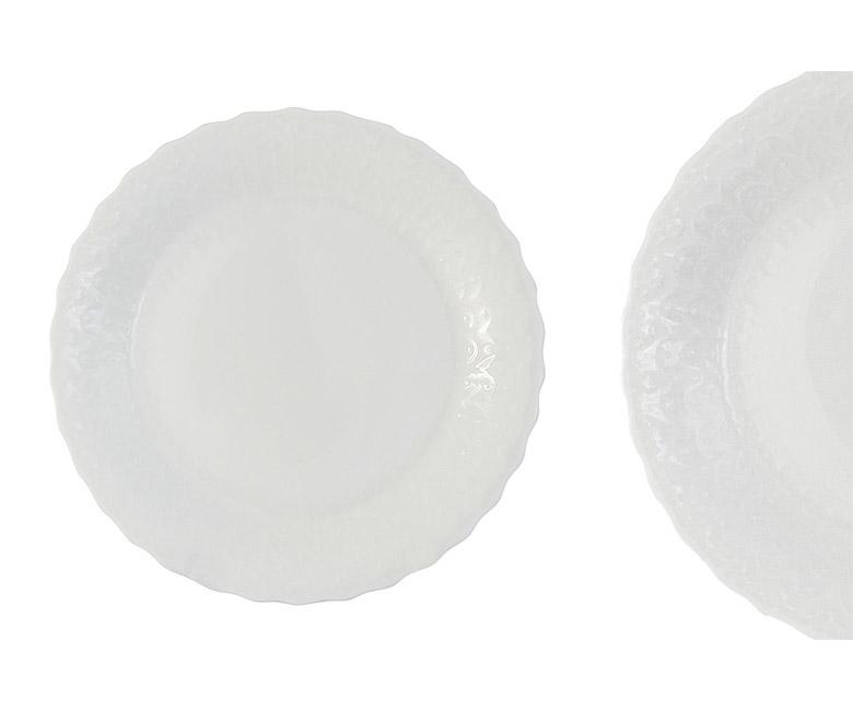 Набор из 6 тарелок Шёлк