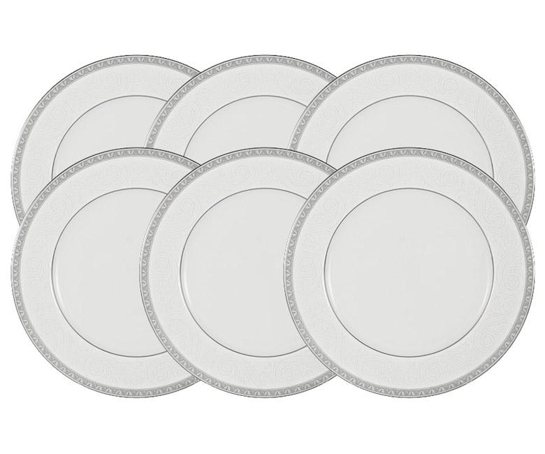 Набор из 6 тарелок Луна