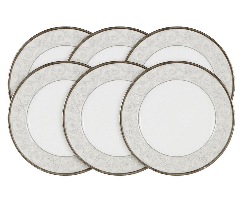 Набор из 6 тарелок Ноктюрн в подарочной упаковке