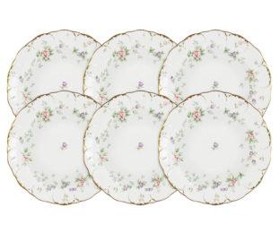 Набор из 6 суповых тарелок Воспоминание в подарочной упаковке