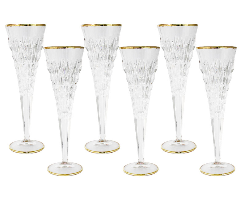 Набор: 6 бокалов для шампанского Энигма