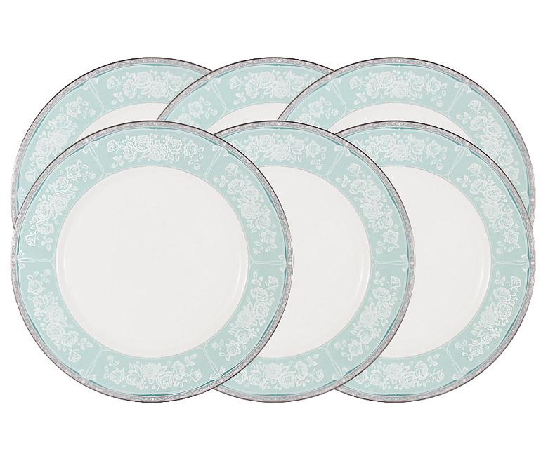 Набор из 6 обеденных тарелок Прикосновение