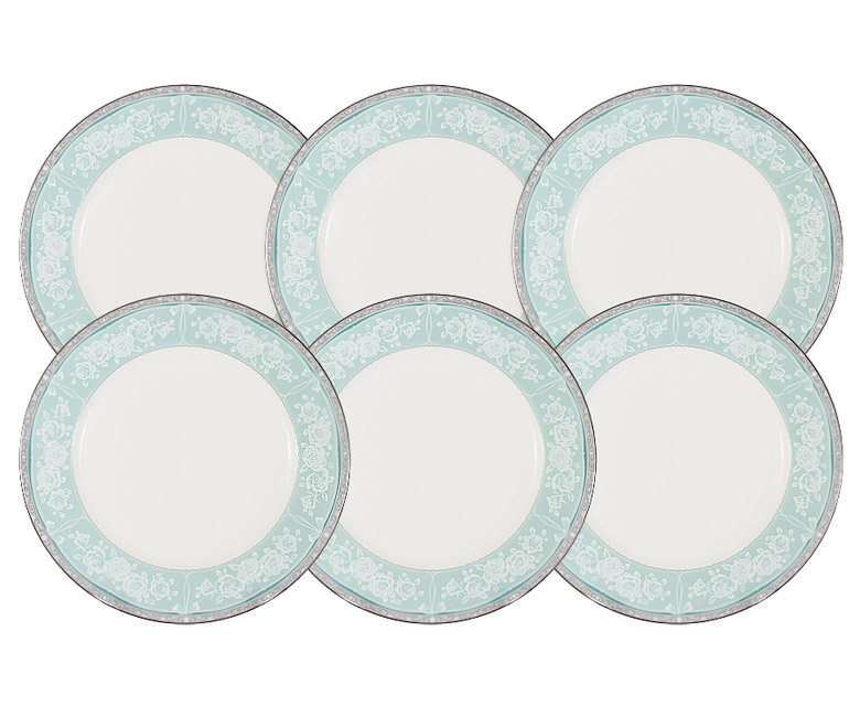 Набор из 6 десертных тарелок Прикосновение