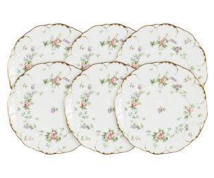 Набор из 6 тарелок Воспоминание