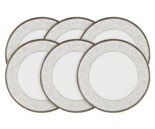 Набор из 6 тарелок Ноктюрн