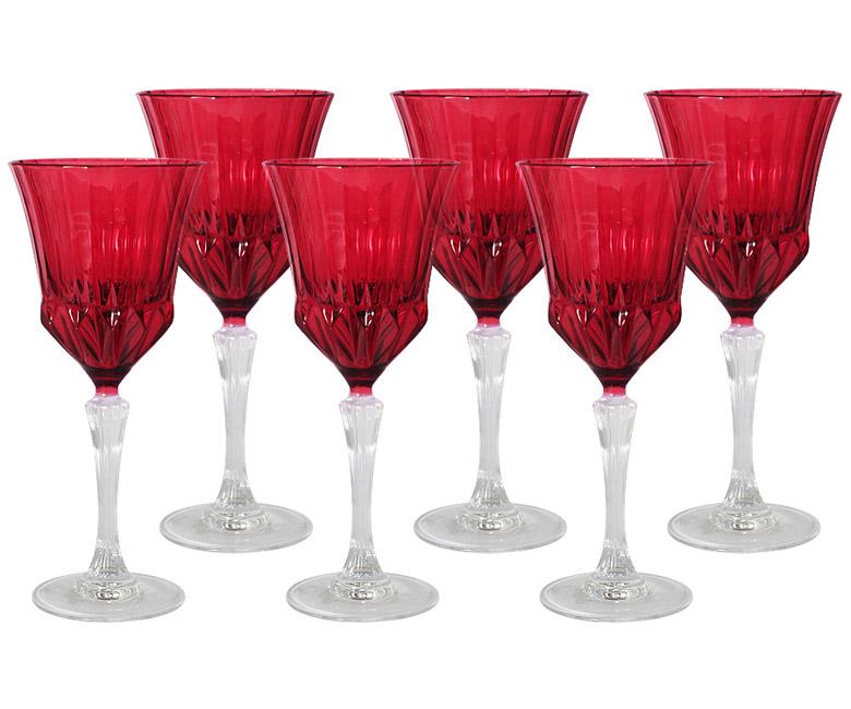 Набор: 6 бокалов для вина Адажио - красная