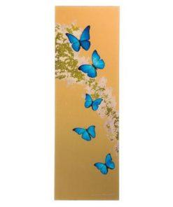 """Магнитная панель  """"Лазурные бабочки"""" стекло, металл"""