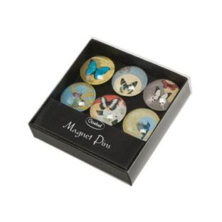 Подарочный набор металлических магнитов с мотивами картин художницы Джоанны Шарлотт