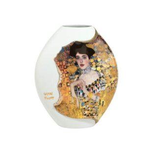 """Фарфоровая ваза """"Адель"""" , декорирование золотом"""