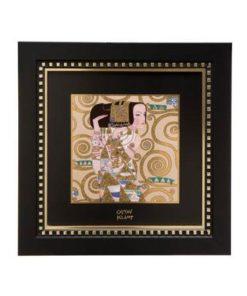 """Картина на фарфоре """"Ожидание"""", декорирована золотом. Лимитированный выпуск 1999 шт., подтвержден сертификатом"""