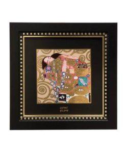"""Картина на фарфоре """"Исполнение"""", декорирована золотом. Лимитированный выпуск 1999 шт., подтвержден сертификатом"""