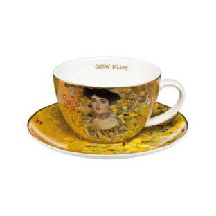 """Набор фарфоровый чайный чашка 250 мл и блюдце """"Адель"""""""