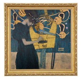 """Картина на фарфоре """"Музыка"""", декорирована золотом. Лимитированный выпуск 999 шт., подтвержден сертификатом"""