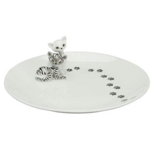 "Фарфоровая тарелка ""Зебра Китти"" диаметр 20 см"
