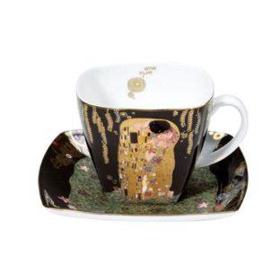 """Фарфоровый набор для кофе """"Поцелуй""""  чашка 250 мл, блюдце"""