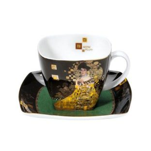 """Фарфоровый набор для кофе """"Адель""""  чашка 250 мл, блюдце"""