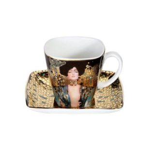 """Фарфоровый набор для кофе """"Юдифь""""  чашка демитассе 100 мл, блюдце"""