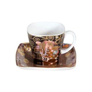 """Фарфоровый набор для кофе """"Исполнение""""  чашка демитассе 100 мл, блюдце"""
