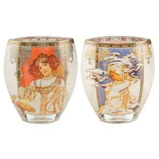 """Стеклянная ваза """"Осень/Зима 1900"""""""