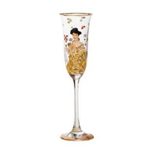 """Бокал для шампанского """"Адель"""" 100 мл, декор золото"""