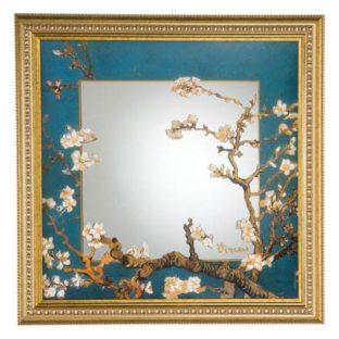 """Зеркало настенное """"Цветущие ветки миндаля"""""""
