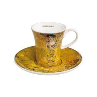 """Набор для кофе """"Адель"""" чашка демитассе 100 мл, блюдце"""