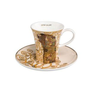 """Набор для кофе """"Исполнение"""" чашка демитассе 100 мл, блюдце"""