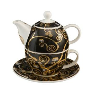 "Набор чайник-чашка ""Древо Жизни"" фарфор 350 мл"