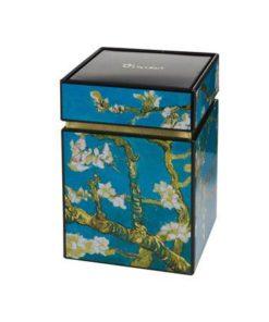 """Металлическая коробка для хранения """"Цветущие ветки миндаля"""""""