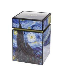 """Металлическая коробка для хранения """"Звездная ночь"""""""