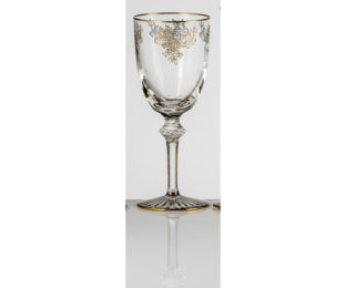 Набор хрустальных бокалов для воды на 6 персон Адажио Золото|Платина