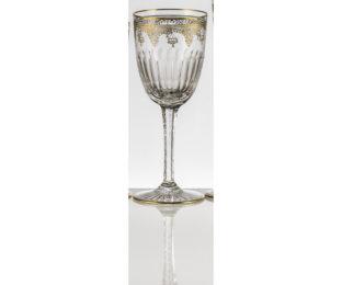 Набор хрустальных бокалов для воды на 6 персон  Arp?ge Золото|Платина