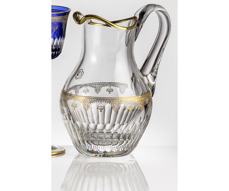 Хрустальный кувшин для воды 1,5 л Arp?ge Золото|Платина