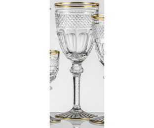 Набор хрустальных бокалов для воды на 6 персон Кантата
